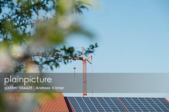 Solardach Neubeu - p335m1564428 von Andreas Körner
