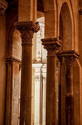 Interior of the Santissimo Salvatore Cathedral - p382m2196295 by Anna Matzen