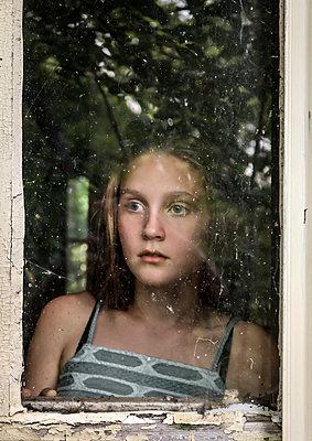 Window Fear - p1019m1480924 by Stephen Carroll
