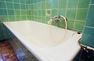 Altmodische Badewanne - p3050006 von Dirk Morla