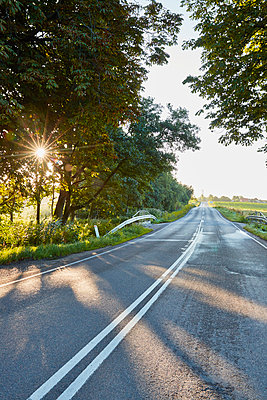 Road in rural area - p312m1470722 by Jan Tove