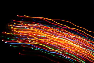Light trails - p867m1007858 by Thomas Degen