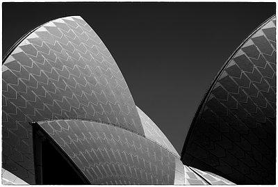 Sydney Opera House Detail Number 2 - p1154m1462833 by Tom Hogan