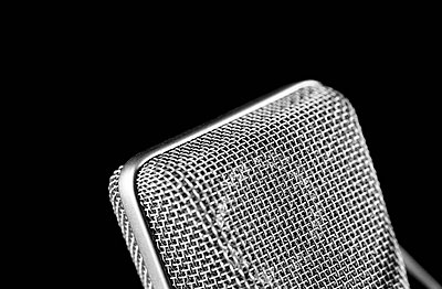 Detail of microphone - p8850042 by Oliver Brenneisen