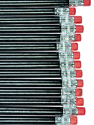 Pencils - p401m2179210 by Frank Baquet