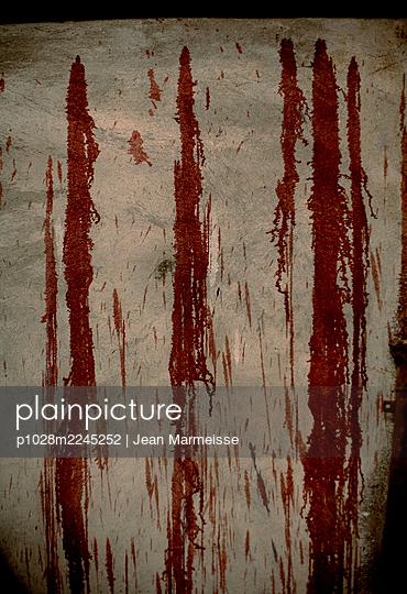 Blood - p1028m2245252 by Jean Marmeisse