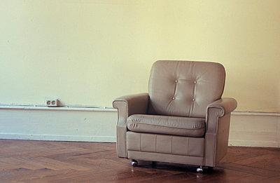 Ledersessel im Büro - p2600030 von Frank Dan Hofacker