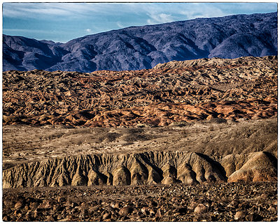 Rock formation in Borrego Springs - p1154m1110138 by Tom Hogan