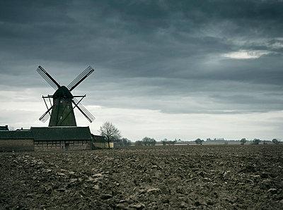 Alte Windmühle - p7980033 von Florian Löbermann