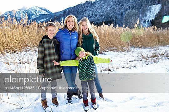 Familie in der Natur - p1146m1128935 von Stephanie Uhlenbrock