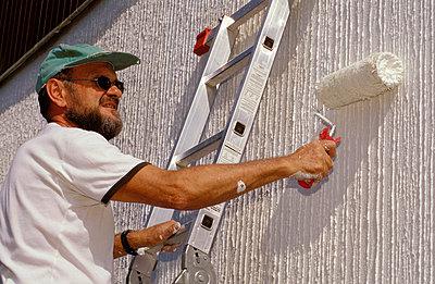 Die Wand neu anstreichen - p2200015 von Kai Jabs