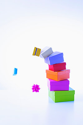 Stacked gifts - p1149m2124853 by Yvonne Röder