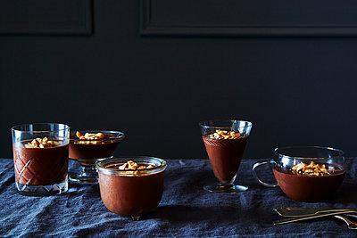 Chocolate Hazelnut Mousse - p1379m1492510 by James Ransom