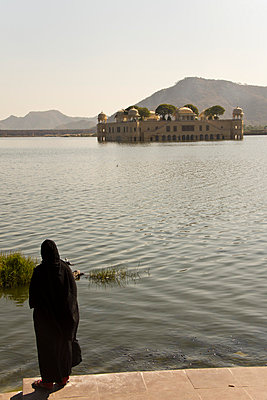 Water Palace in Jaipur, India - p162m763137 by Beate Bussenius