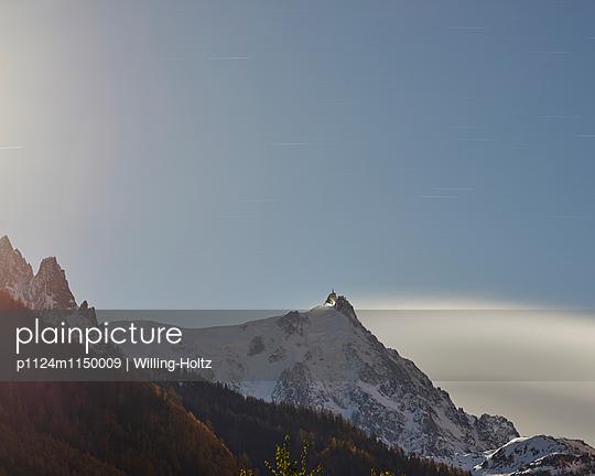 Berge im Mondlicht - p1124m1150009 von Willing-Holtz