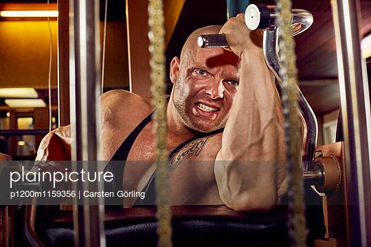 Bodybuilding - p1200m1159356 von Carsten Goerling