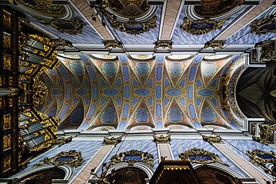 Ceiling fresco  - p1088m902190 by Martin Benner