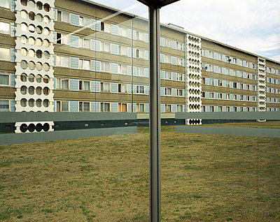 Cottbus, Plattenbau - p2686127 von JH