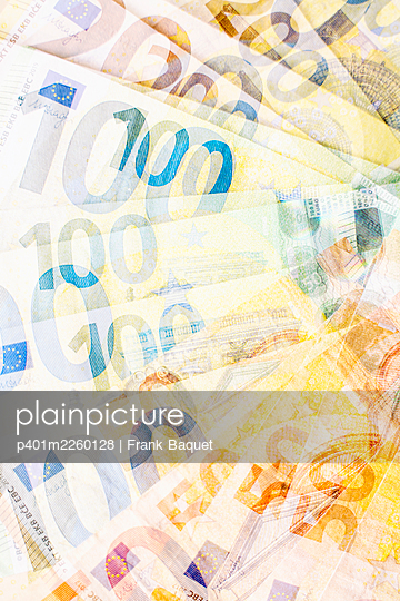 Euro banknotes - p401m2260128 by Frank Baquet