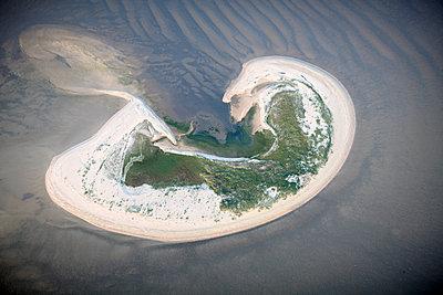 """Insel """"Lütje Hörn"""" im Wattenmeer (Nordsee) - p1258m1061395 von Peter Hamel"""