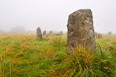 Merry Maidens stone circle, Cornwall, England, United Kingdom, Europe - p871m1073082f by Alan Copson