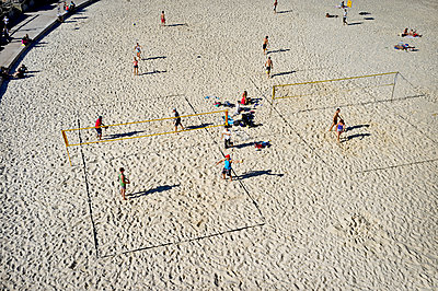 Beach volleyball - p1125m2013977 by jonlove