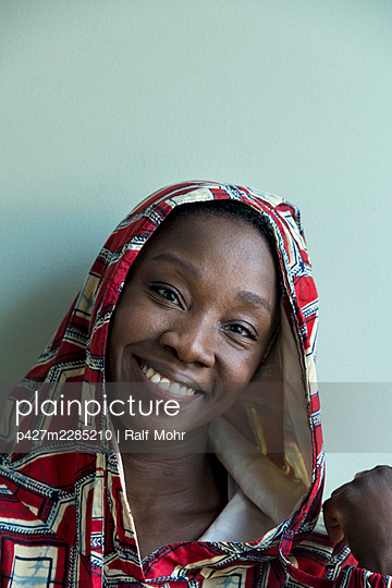 African woman - p427m2285210 by Ralf Mohr