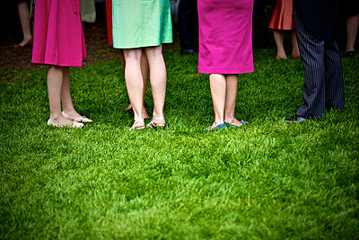 Colourful clothes on a wedding - p6650067 by Roman Thomas