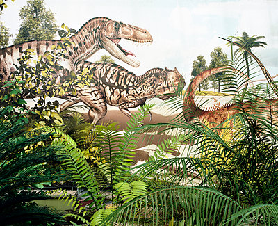 Dinosaurs - p1083m1011393 by Alain Greloud