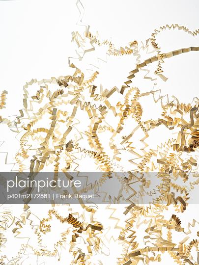 Paper stripes - p401m2172881 by Frank Baquet