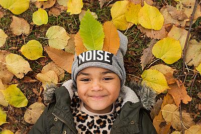 Portrait in autumn - p1323m1190288 by Sarah Toure