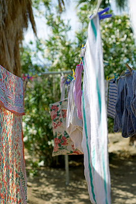 Clean laundry - p6350025 by Julia Kuskin