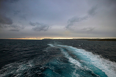 Seascape at sunset - p388m701842 by Jeffries