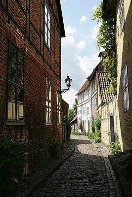 Eine Gasse in Lüneburg - p6060019 von Iris Friedrich