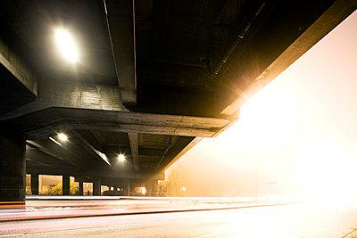 Motorway at night - p8510014 by Lohfink