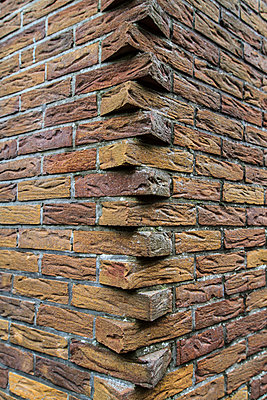 Brick-work - p417m1119619 by Pat Meise