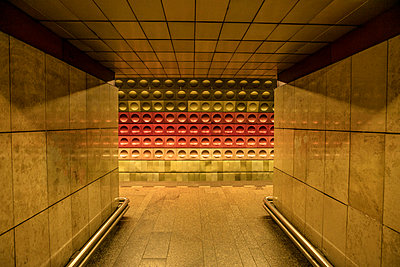 Subway Prague - p1082m1564387 by Daniel Allan