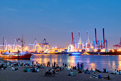 Blue Port, Övelgönne - p1099m1031580 von Sabine Vielmo
