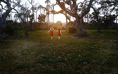 Schwestern in Rot - p1694m2291712 von Oksana Wagner