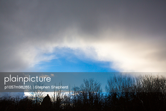 Wolken - p1057m982851 von Stephen Shepherd