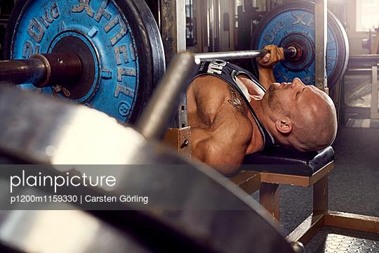 Bodybuilding - p1200m1159330 von Carsten Goerling