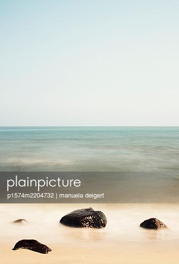 Steine am Strand - p1574m2204732 von manuela deigert