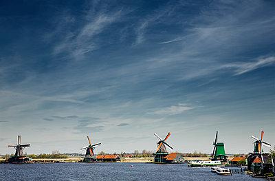 Windmühlen in der Zaanse Schans - p1032m1139052 von Fuercho