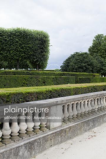 Der Jardin du Luxembourg Park - p596m1185290 von Ariane Galateau