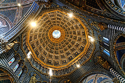Cupola in a cathedral, Florence, Italy - p1154m2160788 by Tom Hogan