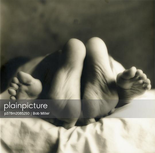Loving Feet   - p378m2085293 by Bob Miller