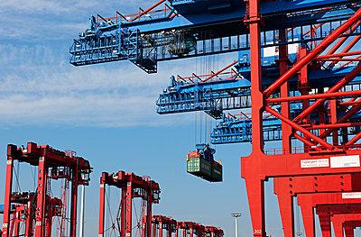 Containergreifer - p1099m882897 von Sabine Vielmo