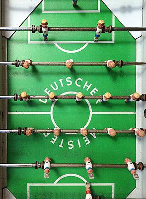 "Table football, ""German champion"" - p237m2151127 by Thordis Rüggeberg"