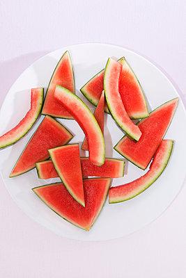 Reste einer Wassermelone - p1149m1146892 von Yvonne Röder