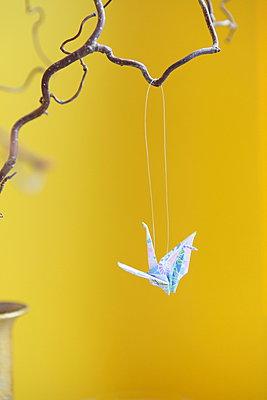 Crane bird - p045m1008159 by Jasmin Sander
